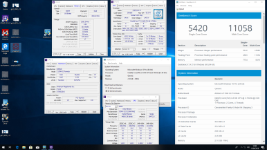 Geekbench3 - 4100 CL12